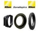 又敗家Nikon方轉圓眼罩DK-22+多尼爾DK2217+原廠尼康眼罩DK-17適D7100 D7000 D5400 D5300 D3200 D90 Fujifilm S2PRO