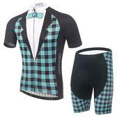 自行車衣-(短袖套裝)-時尚紳士禮服帥氣男單車服套裝73er28【時尚巴黎】