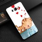 三星 Samsung Galaxy J7 Prime 2016 J700f J710 G610y 手機殼 軟殼 保護套 兩個世界 貓戀魚