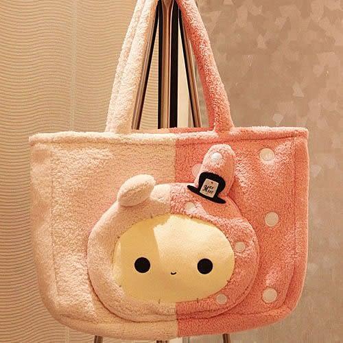 【發現。好貨】憂傷馬戲團 憂憂兔團長 超萌系 可愛大包包 肩包 旅行包 媽媽包