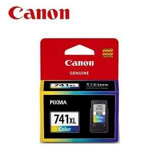 CANON ㊣原廠墨水匣 CL-741XL 彩色 適用:CANON MG2170/MG3170/MG4170/MX437/MX377/MX517