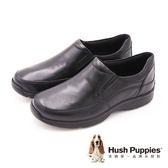 Hush Puppies Lorcan Henson 質感紳士休閒 男皮鞋-黑