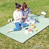 野餐垫戶外春游野餐墊便攜郊游野餐布防潮墊可折疊牛津布防水野炊地墊 酷動3Cigo