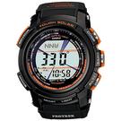 【台南 時代鐘錶 CASIO】卡西歐 PROTREK 宏崑公司貨 PRG-200G-4 太陽能專業登山錶