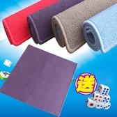 麻將桌布麻將毯純色麻將墊子防滑加厚麻將桌墊打牌家用73-84cmDF
