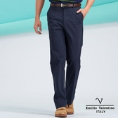 【Emilio Valentino】范倫鐵諾嚴選時尚彈性舒適休閒長褲- 藍