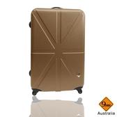 行李箱28吋 ABS材質 米字英倫系列【Gate 9】