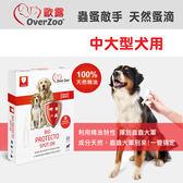 【毛麻吉寵物舖】OVERZOO 歐露 蟲蚤敵手蚤滴 中大型犬適用