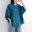機車防曬衫 薄襯衫~七分袖襯衫~棉麻襯衫...