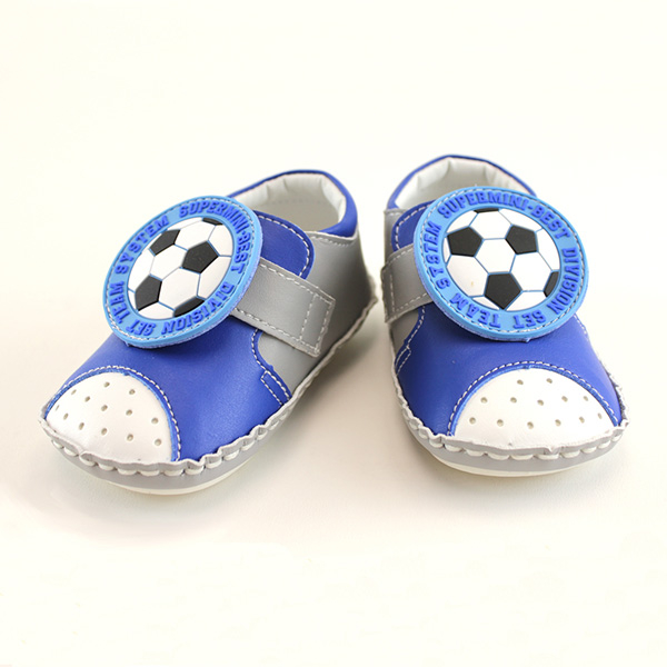 【愛的世界】足球寶寶鞋/學步鞋-台灣製- ---童鞋童襪