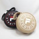 FILA 圓形側背包 小圓包 肩背包 BMU3012BK 黑 BMU3012KK 奶茶【iSport愛運動】