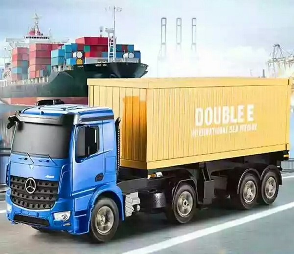 遙控貨櫃車 大型貨櫃車 工程車 運輸車 大卡車 聯結車
