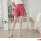 《BA5816》優雅打褶單釦造型A字西裝短褲--適 XL~5L OrangeBear