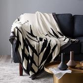 預熱北歐純棉簡約雙面ins風沙發巾沙發套毛毯多功能蓋毯雙人線毯毯子
