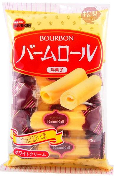 《松貝》北日本迷你蛋糕捲8本104g【4901360307760】bc17