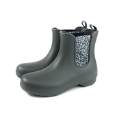 Crocs 短靴 雨鞋 雨靴 灰色 女鞋 204630-0EY no013