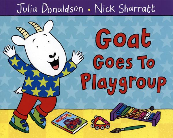 【麥克書店】GOAT GOES TO PLAYGROUP / 平裝繪本《主題: 上學去 Goes to School》