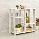 【H&R安室家】簡約收納置物架/廚房收納櫃-BCF41