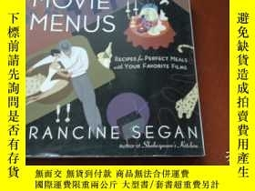 二手書博民逛書店MOVIE罕見MENUS, FRANCINE SEGANY204