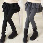 女童打底褲秋裝女孩裙褲洋氣2020新款棉質假兩件外穿褲子兒童褲裙 3C數位百貨