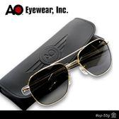 AO 美國軍規飛官太陽眼鏡灰色玻璃鏡片OP55G BA TC ~AH01001 ~JC 雜