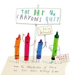 【麥克書店】THE DAY THE CRAYONS QUIT /精裝