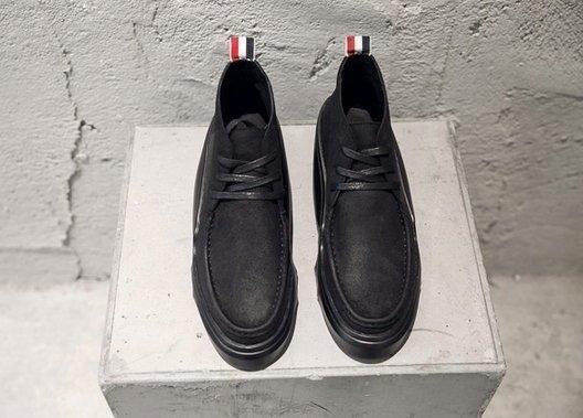 【BIRDYEDGE】 品牌設計 歐洲 牛皮 飛鼠靴 男靴 增高靴 8CM 增高