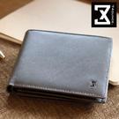 74盎司 Plain 真皮橫式短夾(零錢袋)[N-499]