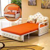 沙發床 可折疊1.8雙人1.5單人1.2米多功能布藝三人兩用小戶型客廳 JD【全館免運】