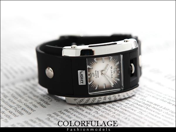 手錶 JAGA捷卡石英冷光運動錶【NE421】原廠公司貨