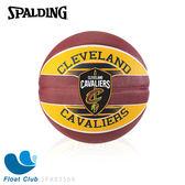 SPALDING 斯伯丁 NBA 隊徽球 籃球 7號 騎士 Cavaliers