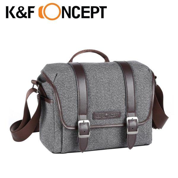 【K&F Concept】休閒者 專業攝影單眼相機斜背包 斜側包(KF13.078)