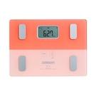 OMRON 歐姆龍 體重體脂肪計 HBF225 螢光甜美粉色