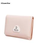 女士錢包女短款簡約迷你多功能折疊錢夾
