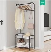 衣架簡易鞋柜衣帽客廳