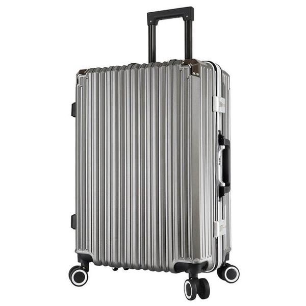 拉桿箱 HIAH旅行箱行李箱鋁框拉桿箱萬向輪28女男學生24寸密碼箱加厚20寸
