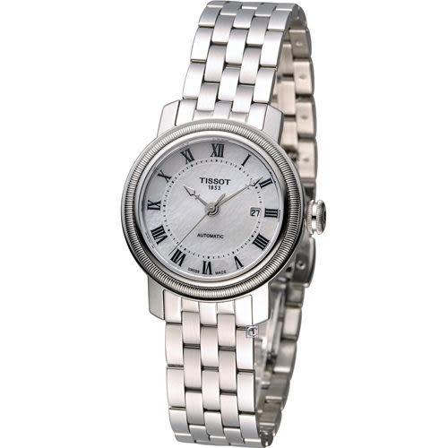 Tissot Bridgeport典藏優雅機械腕錶 T0970071111300