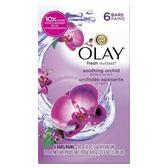 美國Olay歐蕾經典美容香皂(蘭花沁香)113g*6/組*4