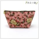 化妝包 包包 防水包 雨朵小舖M332-019 花漾大化妝包-粉紅信封小紅花03222 funbaobao