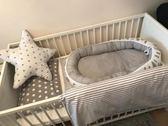 床中床 INS歐美新生嬰兒仿生床 全棉床中床 便攜式可拆洗嬰兒床 igo克萊爾