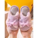 兒童棉拖鞋女家用室內防滑軟底公主親子保暖可愛女寶寶毛絨秋冬季 新年禮物