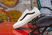 ISNEAKERS vans DECON SF 米白 黑線 麂皮 開口笑 滑板鞋 休閒鞋 男女鞋 GD