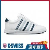 K-SWISS Court Pro S CMF時尚運動鞋-男-白/藍