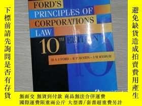 二手書博民逛書店FORD S罕見PRINCIPLES OF CORPORATIONS LAWY204315 如圖 如圖