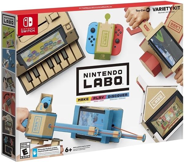 NS 任天堂實驗室 Toy-Con 01 Variety Kit(美版代購)