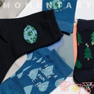 聖誕節襪女中筒襪百搭可愛樹女學生襪子【聚可愛】