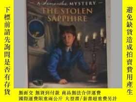 二手書博民逛書店英文原版罕見The Stolen Sapphire by Sar