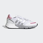 ADIDAS ZX 1K BOOST 女款白銀粉經典舒適休閒鞋-NO.FY5654