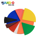 JAKO-O德國野酷-數學教具分數板(22入)