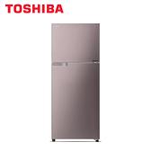 [TOSHIBA 東芝]330公升 雙門變頻冰箱-香檳金 GR-A370TBZ-N